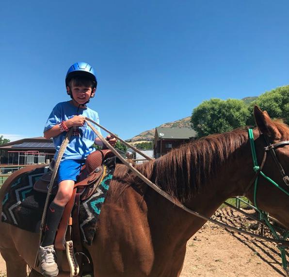 Austin riding horse