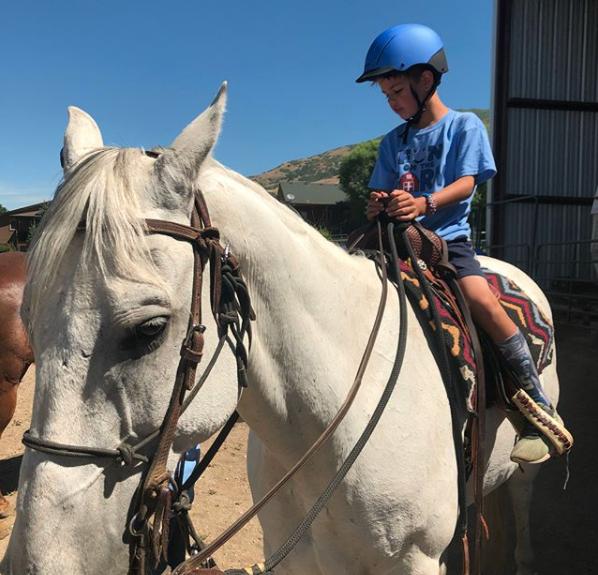 Eli white horse