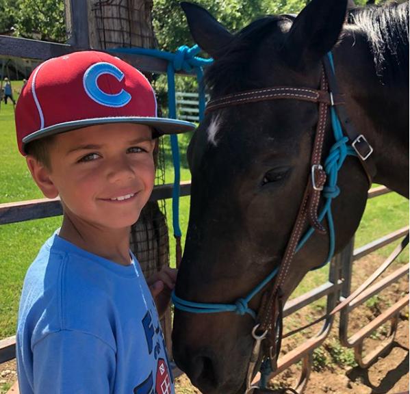 Eli with horse